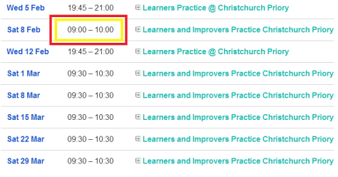 christchurch learners practices