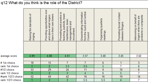 q12 What do you think is the role of the District