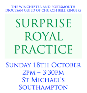 SURPRISE ROYAL PRACTICE ICON OCT 2015